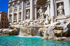 Trevi Fountain in Rome - it's famous for good reason!