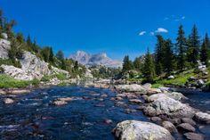 Fremont Creek,  Bridger Wilderness,  Wyoming