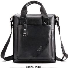 Men's Leather Shoulder Bag Click Here to Shop Quality Leather Messenger Bags http://www.tuccipolo.com/for-men/mens-leather-bags