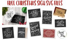I got an email from FreePik today with some really cute free Christmas card designs. I thought they would make really cute signs, so of course, I downloaded them! I quickly noticed that these weren't going to be easy to turn into SVG's to use to make stencils. So I opened them up in Illustrator…