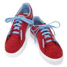 Footbag Lacing makes for wayyyy more comfy shoe wearing!