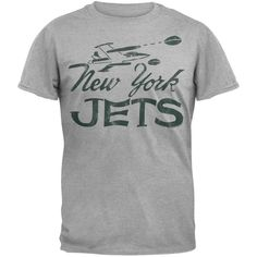 New York Jets - Plane Logo Soft T-Shirt