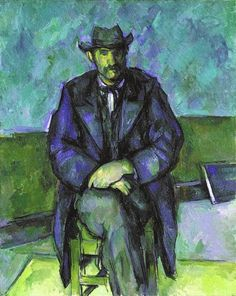 ART & ARTISTS: Paul Cézanne - part 13 Paul Cézanne Portrait of a Peasant oil on canvas x cm National Gallery of Canada, Ottowa Cezanne Art, Paul Cezanne Paintings, Paul Cézanne, Pierre Auguste Renoir, Edouard Manet, Mary Cassatt, Paul Gauguin, Edvard Munch, Edgar Degas