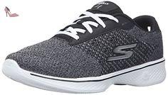 Go Walk 2, Sandales de Sport Homme, Noir (Black/Grey), 39.5 EUSkechers