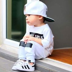 20 Super Ideas For Fashion Kids Boy Style Shops Fashion Kids, Baby Boy Fashion, Toddler Fashion, Young Fashion, Trendy Fashion, Luxury Fashion, Fashion Trends, So Cute Baby, Cute Babies
