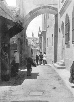 ISRAEL: The Ecce Homo Arch; Via Dolorosa, Jerusalem antique print, 1900 Condition: Good; suitable for framing. Please check the scan for any blemishes prior to making your purchase.. Size: 20.5 x 14.5cm, 8 x 5.75 inches (Medium). Type & Age: Year printed 1900. Antique photographic book illustration. Verso: There are images and/or text printed on the reverse side of the picture. In some cases this ... #Antiqua_Print_Gallery #Home