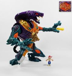 Mighty Max Strikes Fang / Pharoah Phang - Battle Warriors (Toys) (3)