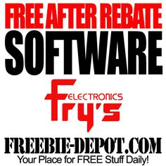 FREE After Rebate Software exp 9/13