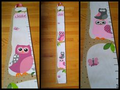 Hand painted wooden growth chart that will capture your childs growth throughout the years. Dont let the time pass by without tracking their every