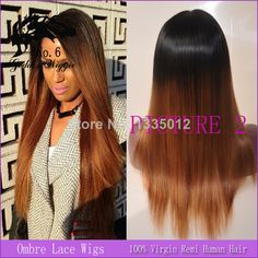 130 Density Human Hair Full Lace Wig With Bangs Natural Black T 99J Red Hair Brazilian Remy Wigs Ombre Lace Wig Brown