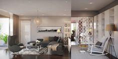 modern style living design