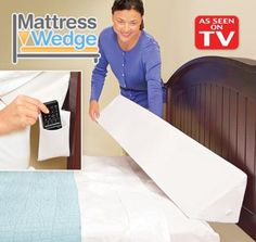 Mattress Wedge As Seen On Tv Pillow The Helps You From Losing Pillows