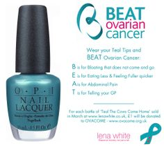 OVARIAN CANCER MONTH | OPI Supports Ovarian Cancer Awareness Month