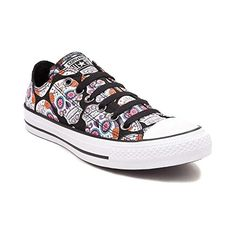 3302af1be1 Shop for Converse All Star Lo Skulls Sneaker in Black Red at Shi by ...