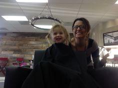 Thyme's first cut! Website Slider, Sliders, Salons, Selfie, Hair, Lounges, Strengthen Hair, Selfies