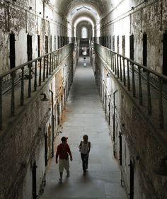 Eastern State Penitentiary in Philadelphia, PA