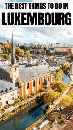 The best things to do in Luxembourg / Luxembourg Travel Guide / Travel to Luxembourg City / Beautiful places to visit in Europe Places In Europe, Europe Destinations, Best Places To Travel, Malta, Monaco, Backpacking Europe, European Travel, Travel Europe, Beautiful Places To Visit