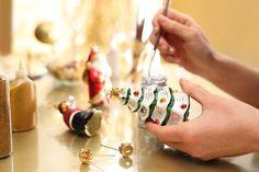 Decorating Christmas of glass balls. Glass Ball, Iphone, Balls, Christmas, Decorating, Lifestyle, Design, Xmas, Decor