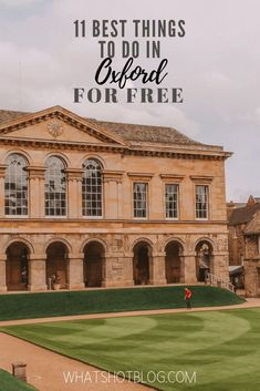 Here are the 11 best free things to do in Oxford, England! Oxford is one of the most expensive cities in the UK but your trip doesn't have to break the bank. Here are the top things to see and do in Oxford for free. Travel The World For Free, Travel Around The World, Travel Guides, Travel Tips, Travel Destinations, Travel Uk, Ireland Travel, Travel Abroad, Travel Goals