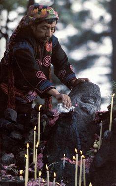 culturalscience: Highland Maya Shaman in Guatemala.