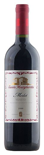 In stock - 11,45€ 2011 Santa Margherita Merlot Veneto, red dry , Italy - 84pt Wine has deep ruby colour. Aroma is soft and elegant with tones of mellowed cherries and plums, in the background we can sense vanilla and wallflowers. In the taste is dry, balanced with structured tannins.