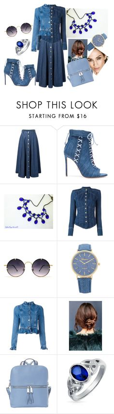 """""""American South Primitive Style with a Victorian Twist"""" by ephiekayartist ❤ liked on Polyvore featuring Oscar Tiye, Balmain, Spitfire, J.W. Anderson, Urban Outfitters, MICHAEL Michael Kors, Bling Jewelry and vintage"""