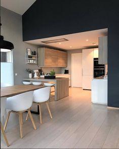 #homedecor salle à manger cuisine scandinave