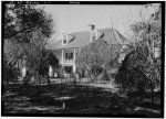 1.  Historic American Buildings Survey Lester Jones, Photographer February 28, 1940 VIEW FROM THE SOUTHEAST - Melrose Plantation, State Highway 119, Melrose, Natchitoches Parish, LA