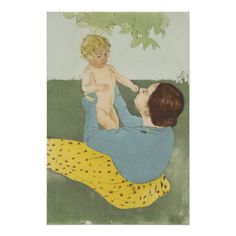 Under the Horse Chestnut Tree by Mary #cassatt perfect #poster