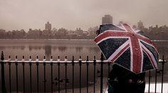 Rainy day on theThames