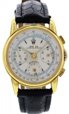 Shop for 4313 Men's Vintage Gold Anti-Magnetic Chronograph Watch by Rolex at ShopStyle. Rolex Vintage, Vintage Watches For Men, Luxury Watches For Men, Men's Vintage, Vintage Cars, Fine Watches, Cool Watches, Rolex Watches, Breitling
