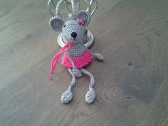 bungelmuisje gemaakt voor Amy :-)