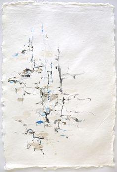 "Karl Pilato, ink on paper, 19"" x 13"", 2012"