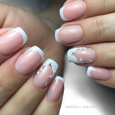 Nail Designs, Projects To Try, Nail Art, Nails, Makeup, Beauty, White Nails, Fingernail Designs, Hairstyle Ideas
