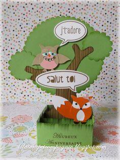 Lolascrap et compagnie: Carte d'anniversaire 3D pour Lilou