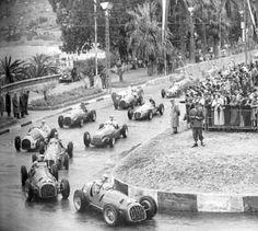 F1 1950 - Extra-championship - Italian GP - San Remo - Start