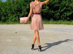 Szmaty świata: Sukienka w grochy.