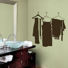 Find More Wall Stickers Information about Hang the clothes rack  wall sticker  new products for 2013  for home  mural wallpaper  Wall Decal  90*90CM  Free shipping,High Quality wall decor wall stickers,China wall decals stickers Suppliers, Cheap wall mural sticker from JASON&MOKO WALL STICKER on Aliexpress.com