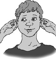 #Denkschakelaar Kan je soms niet verstaan wat anderen zeggen. Hoor je wel, maar begrijp je niet. Doe de denkschakelaar. Pak je oorschelp tussen duim en twee vingers en rol de randjes naar buiten. Trek ook een beetje aan je oor van je gehoorgang af. #kinesiologie #edu-kinesiologie #braingym #leergym Brain Gym, Teacher, Club, Children, Health, Dyslexia, Improve Self Confidence, Yoga For Kids, School