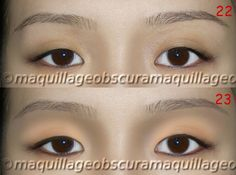 The Natural No-Makeup Look for Asian eyes or Otherwise Known as Reverse Contouring the Eye | Into The Palette