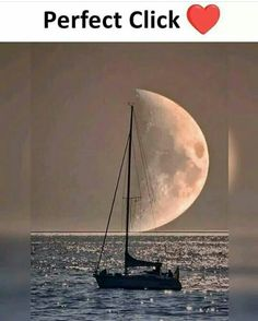 moon and boat perfect click Stunning Photography, Creative Photography, Photography Poses, Nature Photography, Amazing Pics, Amazing Art, Awesome, Photo Trop Belle, Pretty Pictures