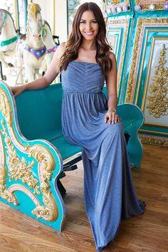 Lime Lush Boutique - Slate Blue Sleeveless Maxi Dress, $23.95 (https://www.limelush.com/slate-blue-sleeveless-maxi-dress/)