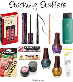 Holiday Gift Guide: Stocking Stuffers – Part 1 {dailykaty.com}