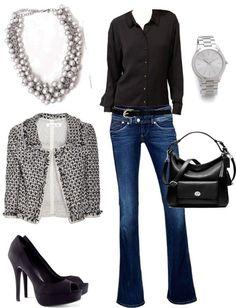 Outfit in den Winterfaarben (Farbpassnummer 6 / 3/ 1) Kerstin Tomancok / Farb-, Typ-, Stil & Imageberatung