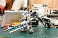MODELER:  Super AWC  MODEL TITLE: N/A  MODIFICATION TYPE: custom color scheme, custom details, kit bash  KITS USED: HGUC 1/144 Gundam TR-1 H...