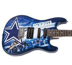 Dallas Cowboys Official NFL Electric Guitar