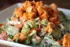 Chopped Buffalo Chicken Salad