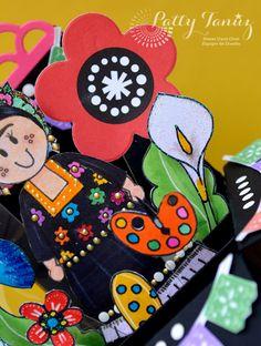 FRIDA TEHUANA CARD by PATTY TAN�Z - Scrapbook.com