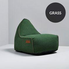 RETROit Cobana Sækkestol -  Green
