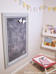 Maybe inside my little closet reading nook I'm creating this summer!